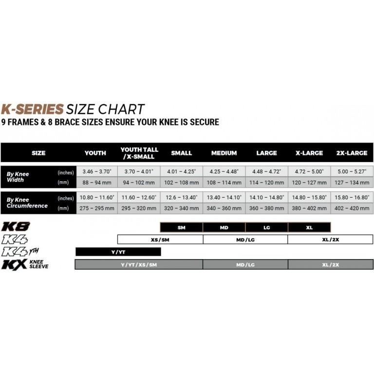 Rodilleras (par) POD K8 de carbono. Equipaciones motocross.